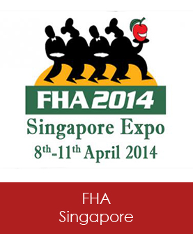 FHA Singapore Expo, 8-11 April 2014